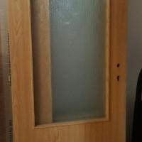 Dvere 60 P DUB 2/3 sklo
