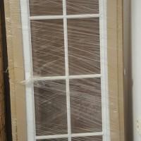 Dvere Octavianus 145 P biele 3/4 sklo