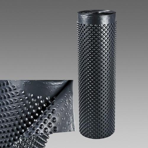 Nopová drenážna fólia 0,5m, plošná hmotnosť 500g/m2