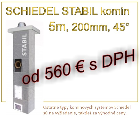 Schiedel komín akcia