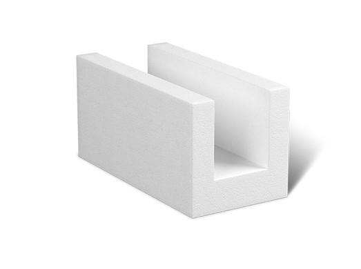 PORFIX U-profil 500x250x375 biely