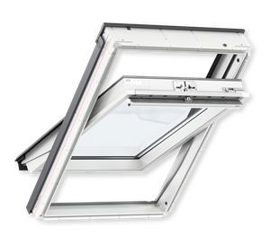 VELUX GLU 0051 78x98cm MK04, poplastované, strešné okno, horné ovládanie