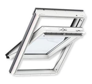 VELUX GLU 0051 78x140cm MK08, poplastované, strešné okno, horné ovládanie