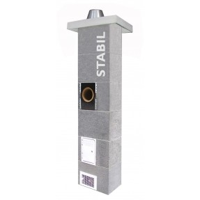 Schiedel STABIL priemer 180, 8 m, 90°