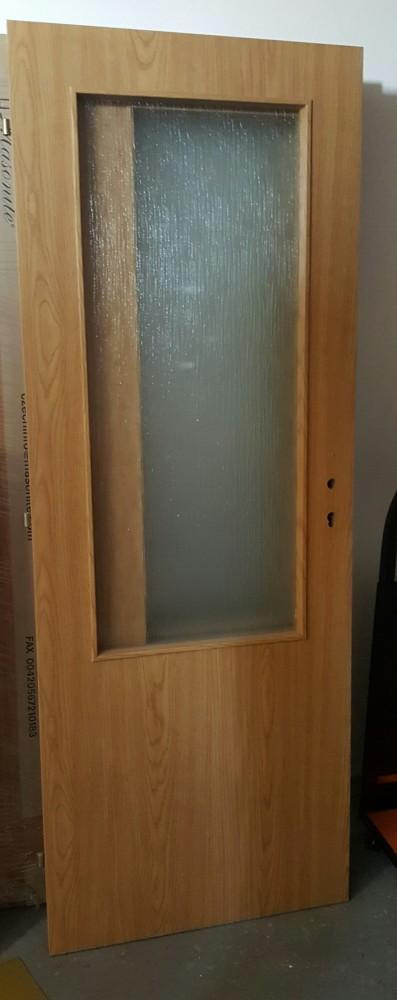 Dvere 70 L DUB 2/3 sklo